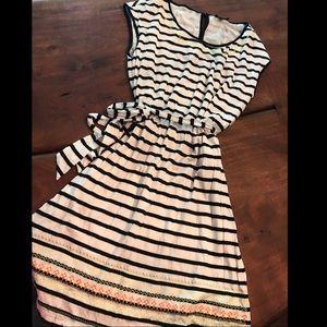 Striped dress , like new